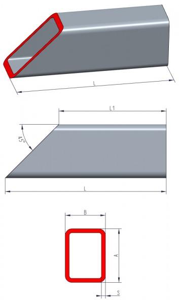rechteckrohre aus aluminium bleche online und bleche nach ma. Black Bedroom Furniture Sets. Home Design Ideas